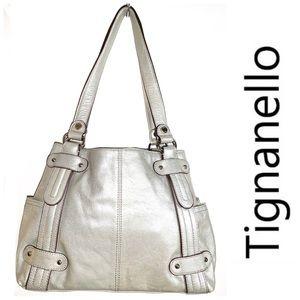 NWT TIGNANELLO Perfect 10 Studded Shopper